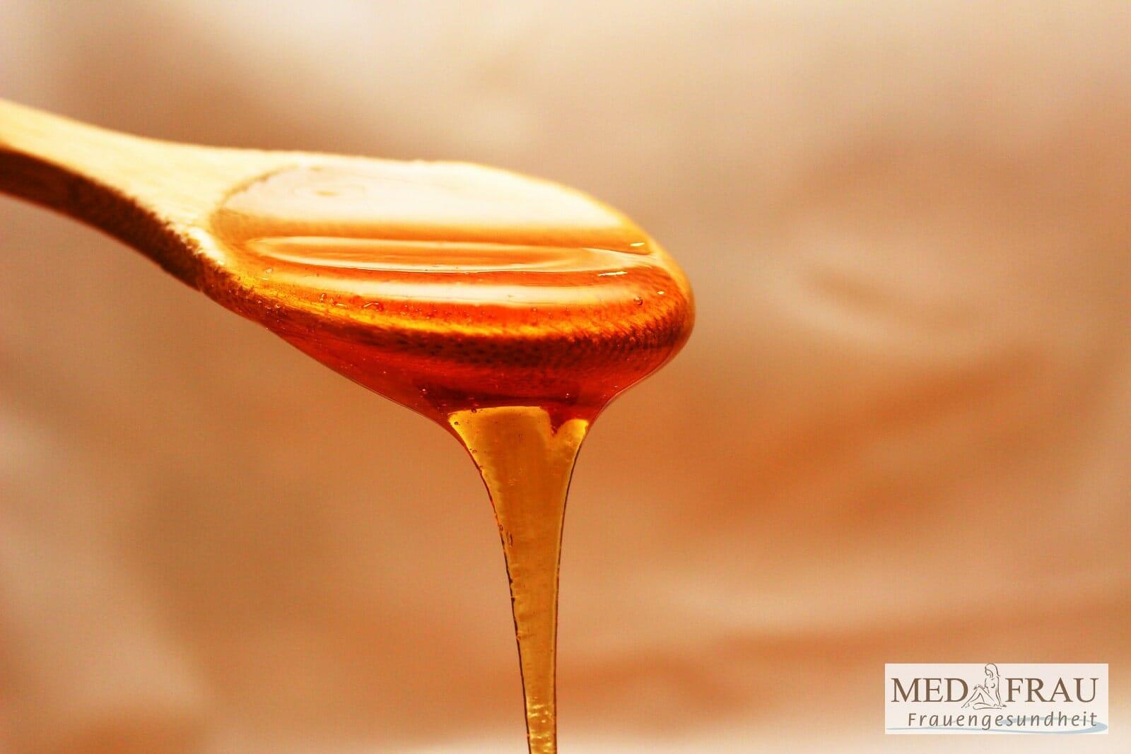 Honig oder Aciclovir