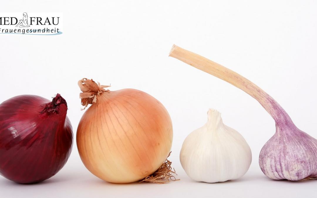 Riecht Vagina nach Knoblauch oder Zwiebeln?